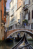 The canals and bridges of Venice Royalty Free Stock Images