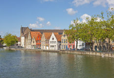 Canals of Bruges, Belgium Stock Photography