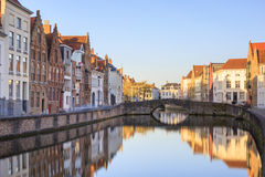 Canals of Bruges, Belgium Royalty Free Stock Photography