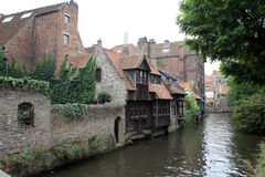 Canals in Brugge Stock Photo