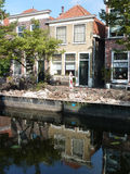 Canals in the city Royalty Free Stock Image