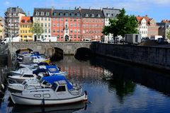 Canals Of Copenhagen Royalty Free Stock Photo