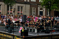 Canals festival. Jazz Orchestra of the Concertgebouw Stock Images