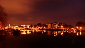 Free Canals In Amsterdam Stock Photography - 1486482