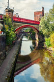 Canals of Manchester, UK Royalty Free Stock Photography