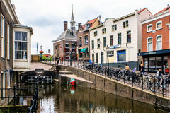 Canals in Netherlands Stock Images