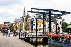 Canals in Netherlands Stock Photos