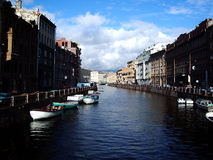 Canals Of St Petersburg Royalty Free Stock Photography