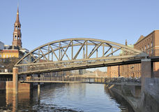 Free Canals, Old Bridges And Warehouse Buildings Stock Images - 19035984