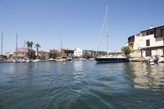 Canals in Port Grimaud, France Royalty Free Stock Photography