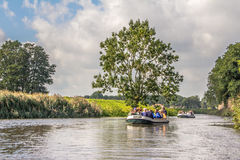 The canals of  's-Hertogebosch Holland Royalty Free Stock Photos