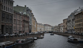 Canals in Saint Petersburg. Russia Royalty Free Stock Image