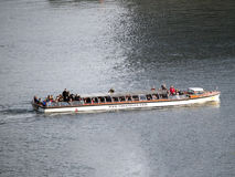 Canals sightseeing boat, Copenhagen stock images