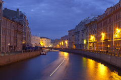 Canals of St. Petersburg Royalty Free Stock Photography