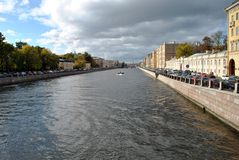 The Canals Of St. Petersburg stock photo