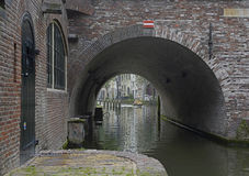 Canals of Utrecht Royalty Free Stock Photo
