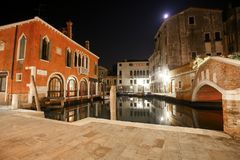 Canals of Venice Royalty Free Stock Photo