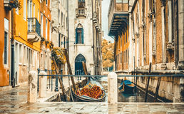 Canals in Venice Stock Photo