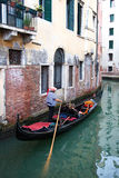 Canals of venice Stock Image