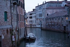 The Canals of Venice Royalty Free Stock Images