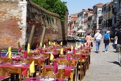 The Canals of Venice. Italy Royalty Free Stock Photos