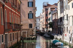 The Canals of Venice Stock Photography