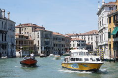 The Canals of Venice. Italy Royalty Free Stock Photo