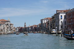 The Canals of Venice. Italy Stock Photography
