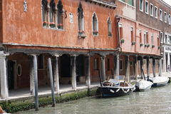 The Canals of Venice Royalty Free Stock Photos