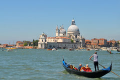 Canals of Venice. Italy, with boats Royalty Free Stock Photography