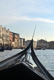Canals of Venice. Italy, with boats Stock Photography
