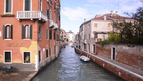 Canals of Venice stock footage