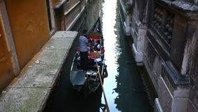 Canals of Venice stock video