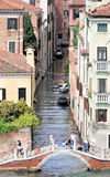 Canals,Venice,Italy Stock Images