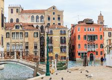 Canals of Venice. Italy Stock Images