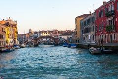 Canals of Venice, murano, burano Stock Photos
