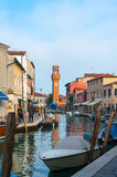 Canals of Venice, murano, burano Royalty Free Stock Photo