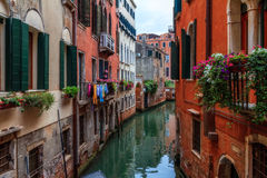 Canals of Venice Stock Photo