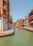 Canals of Venice Royalty Free Stock Photography