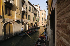 Canals of Venice, Veneto, Italy, Europe Royalty Free Stock Image
