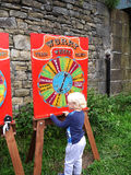 Canalside Games at the 200 year celebration of the Leeds Liverpool Canal at Burnley Lancashire Royalty Free Stock Photo