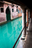 Canalside in Venice Stock Photos