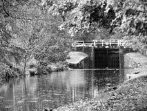 Canalsidegang Stock Afbeeldingen