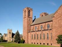 Canandaigua kyrkor Arkivbild