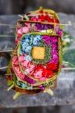 Canang sari, balijczyk Hinduska ofiara bali Indonesia obrazy royalty free