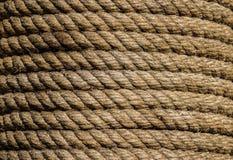Canapa rope fotografie stock