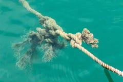 Canapa rope Fotografie Stock Libere da Diritti