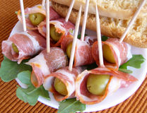 Canape. Stock Image