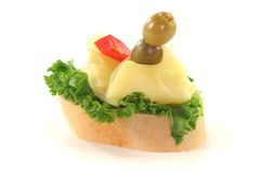Canape Stock Photo