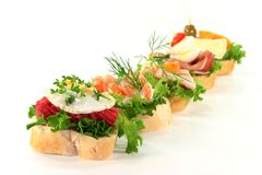 Canape Royalty Free Stock Image